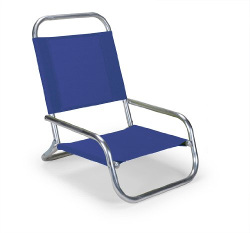 Telescope Casual Sun And Sand Chair, Aluminum Frame With Atlantis Blue Fabric