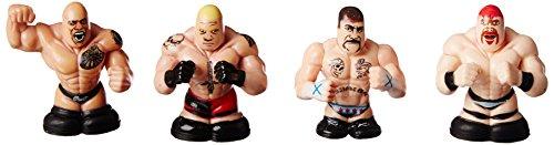 The Rock, Brock Lesner, Sheamus & CM Punk Thumbpers 4 Pack - 1