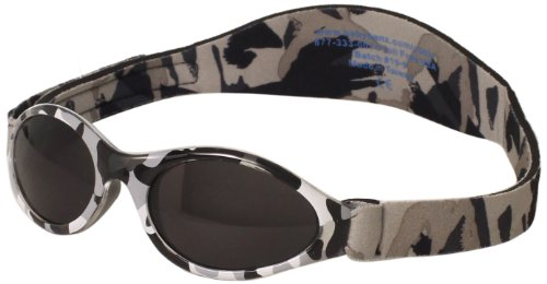 Adventure KidZ BanZ Age 2-5 Sunglasses, Urban Grey Camo