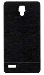 Tidel Aluminium Brushed Metallic Back Cover For Xiaomi Redmi Note Prime ( Black )