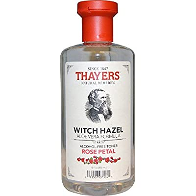 Thayers Witch Hazel Alcohol-Free Rose w/Aloe Vera 12 oz