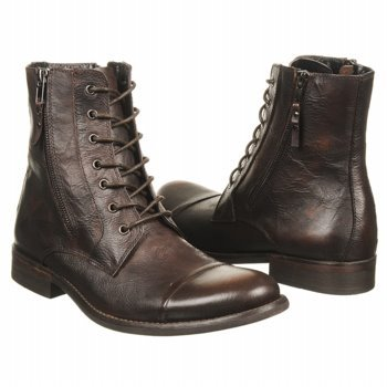 5d98a8c301e The Features Kenneth Cole REACTION Men s Hit Men Lace Up Boot Brown Leather  10 M US -