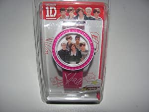 1d One Direction Watch LCD with Pink Band with Signatures by MZBerger & Company