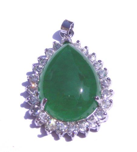 Burmese Imperial Jade Fancy Pendant