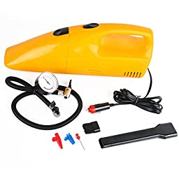 AutoFurnish AF6531 Autofurnish 2-in-1 Car Vacuum Cleaner cum Air Compressor