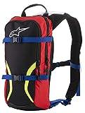 Iguana Hydration Backpack (One Size, Black Blue Red Yellow)
