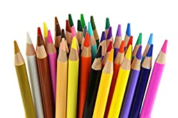 Strokes Art 36 Piece Artist Grade Premium Quality Colored Pencil Set Assorted Colors, 7 Inches Long, Sharpened, 4.0 Smooth Lead