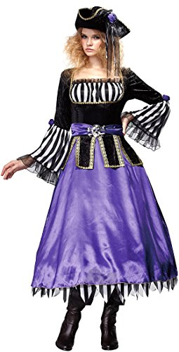 Pirate Mistress Adult Costume - Womens Small (0-4)