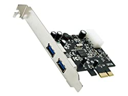 Rosewill 2-Port USB 3.0 PCI Express Card RC-505