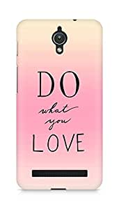 AMEZ do what you love Back Cover For Asus Zenfone C ZC451CG