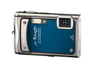 Olympus Mju Tough 8000 Compact Digital Camera - Steel Blue (12MP, 3.6x Wide Zoom) 2.7 inch LCD
