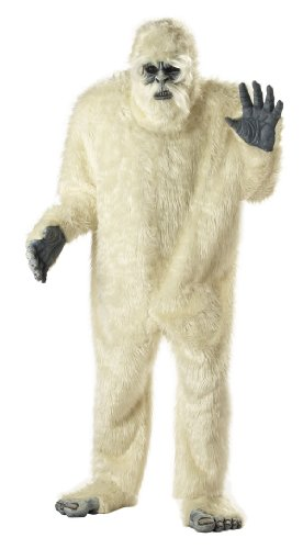 Deluxe Abominable Snowman Costume - Adult Std.