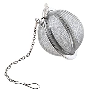 Premium Stainless Steel Mesh Tea Balls - New Ultra Fine Stainless Steel Strainer and Steeper for Mugs/Cups(3 Set)