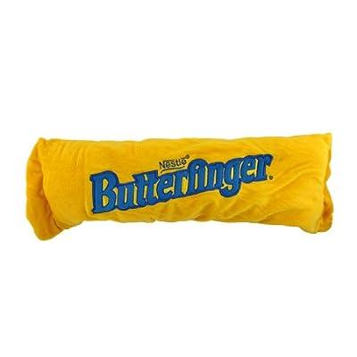 Amazon.com - Plush Butterfinger Candy Bar Accent Throw Pillow -