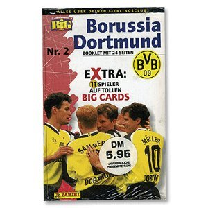 1996 Borussia Big Card Set Sammelkarten - OS