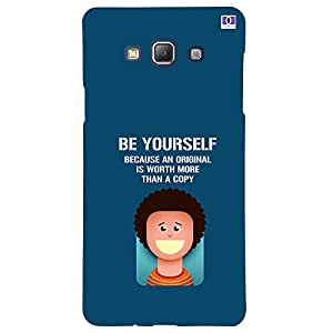 Be Yourself - Mobile Back Case Cover For Samsung Galaxy A5 (2015)