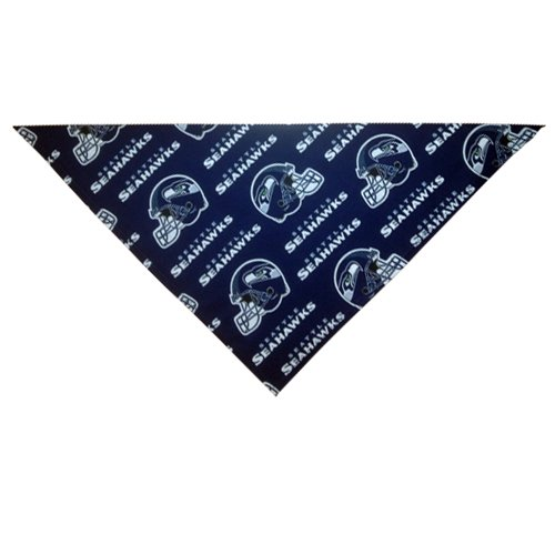 Seattle Seahawks Dog Bandana (X-Large: fits neck 20-24 inches) at Amazon.com