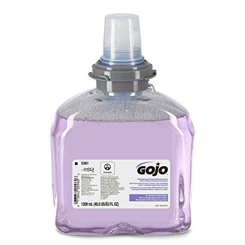GOJO 536102 TFX Luxury Foam Hand Wash, Fresh Scent, Dispenser, 1200mL, 2/Carton (Spray N Wash Refill compare prices)