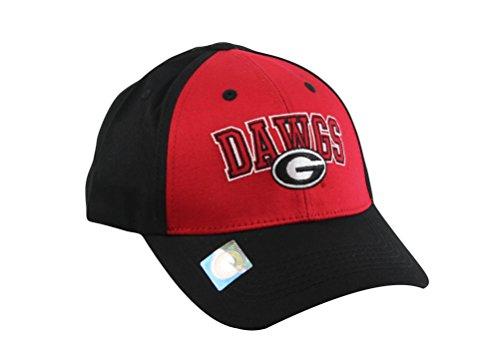 National Cap Men's Champ Arch Georgia Bulldogs Dawgs Embroidered Cap (Cap Bulldog compare prices)