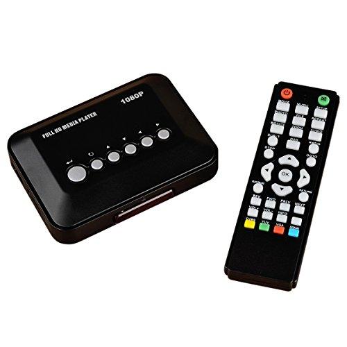 Full Hd Media Player 1080p Download Hdtv 1080p Resolucion Led 55 Lg Uhd 4k Smart Tv Uk6350 Camera Replay Xd 1080 Mini: BUKE Mini Full HD 1080P Media Player Video Portable