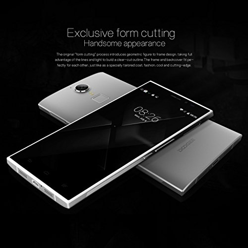 DOOGEE-DG550-55-HD-IPS-cran-3-G-Smartphone-Android-42-MTK6592-Octa-Core-Dual-SIM-Tlphone-Mobile-sans-abonnement-1-G-RAM-16-G-ROM-80-MP-Camra-OTG-GPS-WIFI-Noir-Blanc