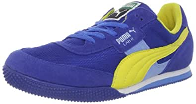 Puma Men's Lab II FB Sneaker,Royal/Yellow/Pearl Blue,14 D US