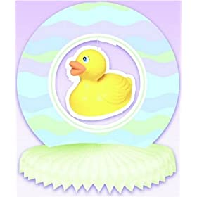 Rubber Duck/ducky/duckie Baby Shower Party Centerpiece