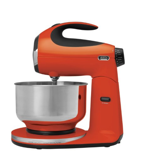 Sunbeam FPSBSM210T Heritage Series 350-Watt Stand Mixer, Tangerine Orange (Kitchen Aid Mixer Tangerine compare prices)