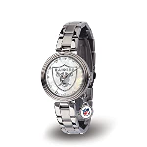 Brand New Oakland Raiders NFL Charm Series Ladies Watch by Things for You