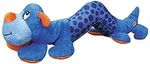 KONG Shakers Stuffed Caterpillar Dog Toy MD/LG