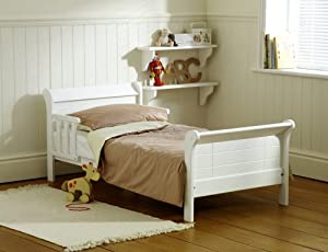 Saplings White Poppy Junior Bed (Pine) with Superior Spring Mattress