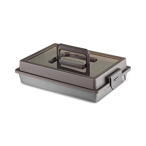 KitchenAid Classic Cake Pan with Lid - Silver (9x13