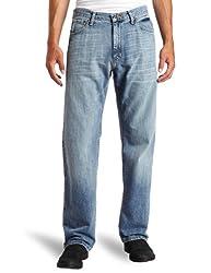 Nautica Jeans Men's Relaxed Light Hatch Jean, Hokline Blue, 38Wx30L