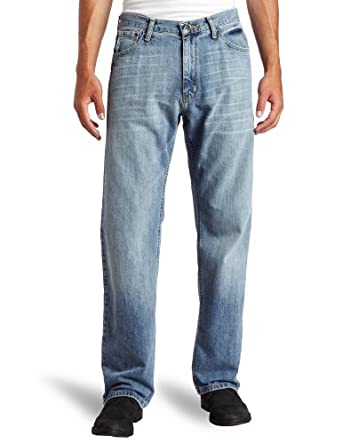 Nautica Jeans Men's Relaxed Light Hatch Jean, Hokline Blue, 30Wx32L