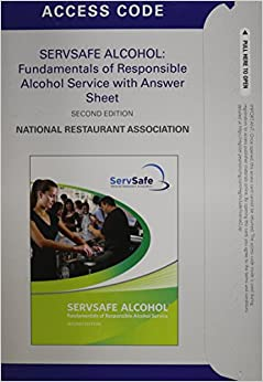 Student Access Code Card for ServSafe Alcohol Online ...