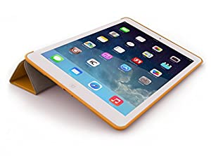 iPad Air 2 Case (iPad 6) - KHOMO DUAL Super Slim Orange Cover with Rubberized back and Smart Feature (Built-in magnet for sleep / wake feature) For Apple iPad Air 2 Tablet from iPad Air 2 Case
