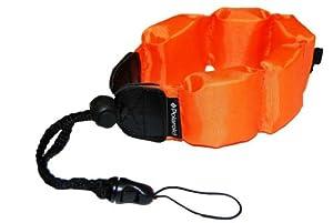 Polaroid Floating Wrist Strap Orange for Underwater Waterproof Cameras Camcorders Housings