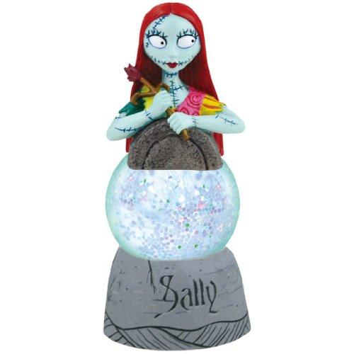 Water Globe Figurine: Disney Nightmare Before Christmas Sally from Westland Giftware Sparkler
