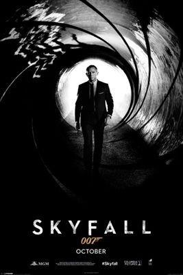 James Bond (Skyfall) 007 スカイフォール ポスター (120905)