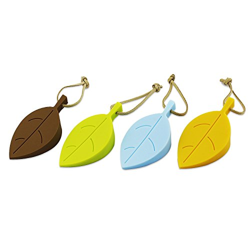 aussel-silicone-door-stopper-wedge-finger-protector-premium-cute-colorful-cartoon-leaf-style-flexibl