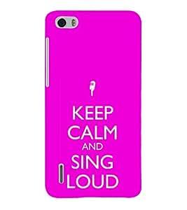 EPICCASE Sing loud Mobile Back Case Cover For Huawei Honor 6 (Designer Case)