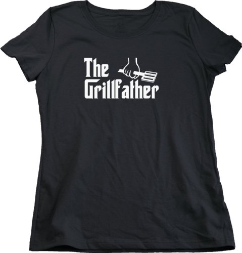 The Grillfather Ladies Cut T-Shirt / Funny Grill BBQ Meat Tee