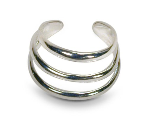 Sterling Silver Triple Ear Cuff