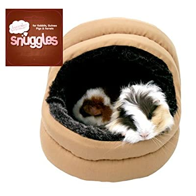 Boredom Breaker Snuggles Small Animal Plush 2 Way Hooded Bed Pets Small Animals Snuggles 5025659196046