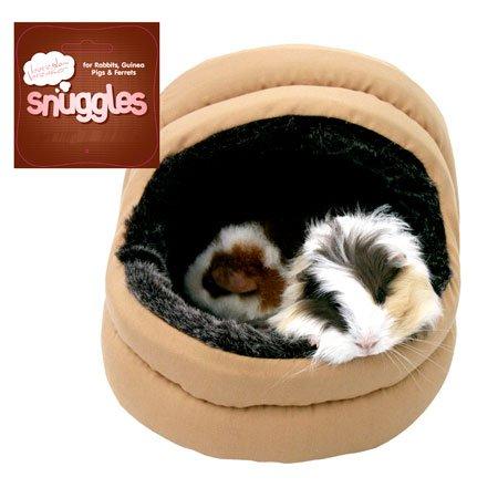 (Boredom Breaker) Snuggles Small Animal Plush 2-Way Hooded Bed