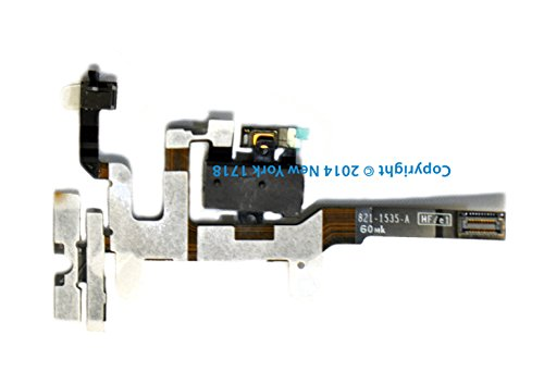 Iphone 4S Headphone Jack And Volume Control Flex Cable (Black)-Ny1718