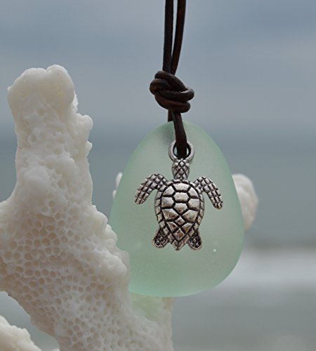 leather-sea-glass-necklace-sea-glass-jewelry-leather-jewelry-recycled-sea-glass-cobalt-blue-purple-a
