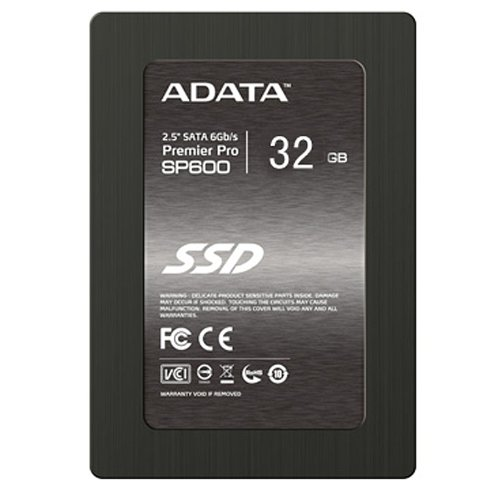 ADATA Technology Premier Pro SP600 SSD SATA3.0 2.5 32GB
