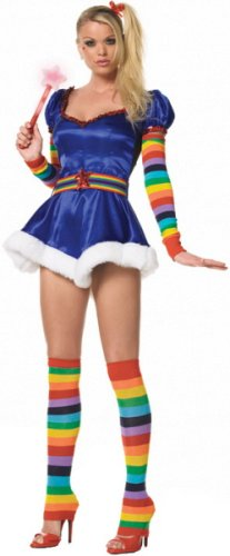 Rainbow Brite Adult Costume Halloween