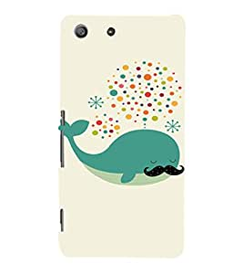 EPICCASE Dreaming Whale Mobile Back Case Cover For Sony Xperia M5 (Designer Case)